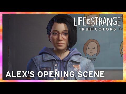 Alex's Opening Scene de Life is Strange: True Colors