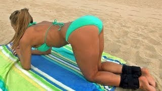 Bikini Butt and Leg Workout Videos from Female Fitness Model