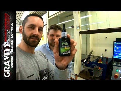 Kettenöl im großen Labortest | Hausbesuch bei Dr.Wack - F100 Fahrradpflege Produkte | UMLK #75