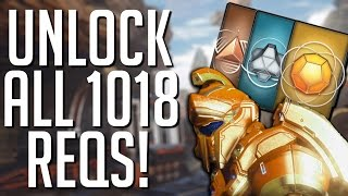 How Long Does It Take To Unlock ALL REQs?- Halo 5