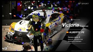 🚩Gran Turismo SPORT Online🚩 Road to Trophy, Record de victorias, 37 Victorias, C.B. Lexus au TOMS RC