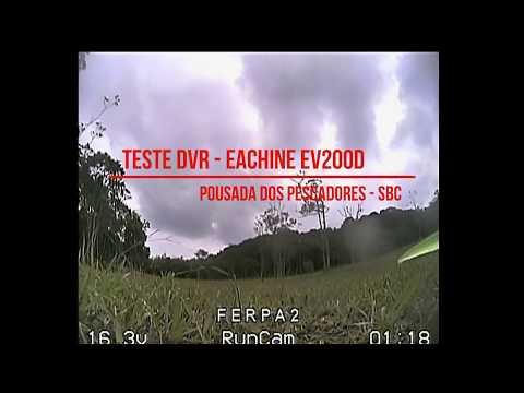 Teste do DVR do EV200D