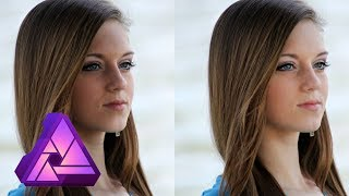 Remove Shadows from Faces - Affinity Photo Tutorial