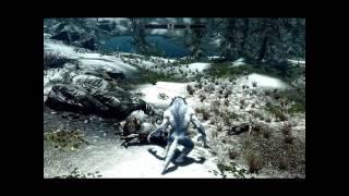 The Elder Scrolls V Skyrim - Van Helsing's Silver Werewolf mod