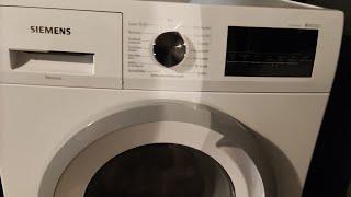Produkttest: Meine Meinung zur Siemens WM14N292 (Waschmaschine)