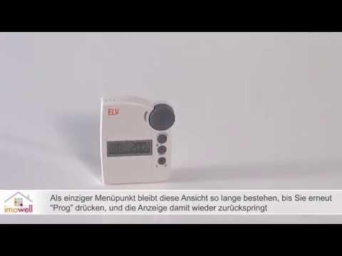 Funkthermostat FS20 STR mit Funksteckdose: Anlernen und Funktionen