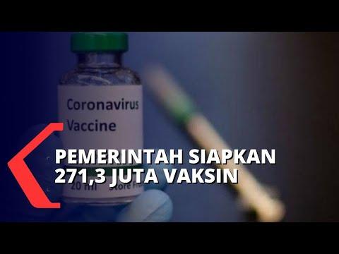 pemerintah siapkan juta vaksin covid- tiba november