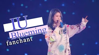 (FANCHANT) IU   'Blueming' Lyrics RomEng