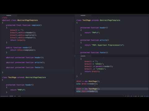 PHP - abstract 3 (사례:템플릿 메소드 패턴 설명)