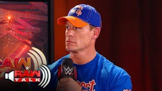 Is John Cena retiring from WWE?: Raw Talk, Sept. 24, 2017 (WWE Network Exclusive)