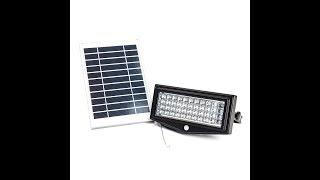 Solar Powered Motion Light - 1000 Lumen LED Security