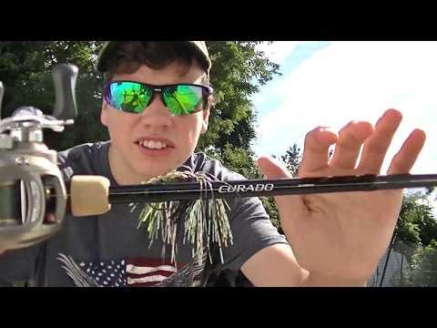 Shimano Curado Casting Rod Review!