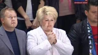 Lokomotiv Yaroslavl Crash Announcement during Salavat vs. Atlant Game