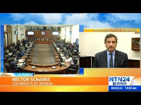 Sin la OEA, Evo sería el autoproclamado presidente con una elección fraudulenta: Héctor Schamis