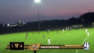 Argos Boys Soccer vs Faith Christian