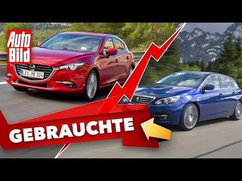 Peugeot 308 vs. Mazda 3 (2021) |Das Gebrauchtwagen-Battle mit Conny Poltersdorf & Moritz Doka