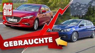 [AUTO BILD] Peugeot 308 vs. Mazda 3 (2021)