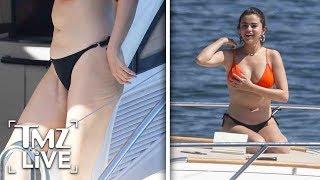 Selena Gomez's Transplant Scars Visible As She Soaks Up Sun In Sydney   TMZ Live