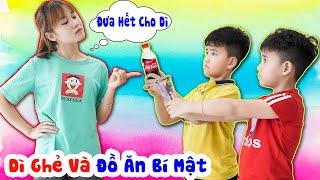 Dì Ghẻ Tham Ăn Và Đồ Ăn Bí Mật ♥ Min Min TV Minh Khoa