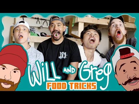 Will & Greg Show:  Food Tricks (Ep. 12)