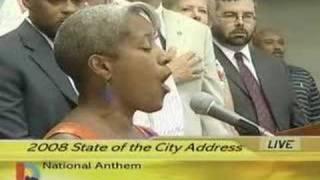 Black National Anthem replaces Star-Spangled Banner
