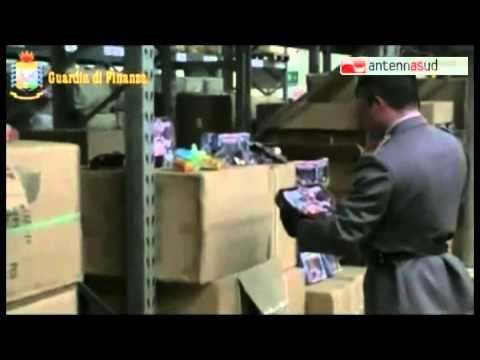 TG 11.03.14 Taranto, sequestrati fucili da sub, archi e frecce giocattolo