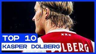 TOP 10   De mooiste Eredivisie-goals van Kasper Dolberg