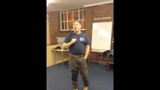 Tony Prestons Krav Maga Wirral seminar with Rory Miller