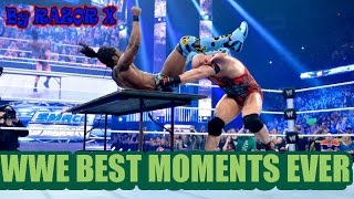 WWE BEST MOMENTS EVER 2016 ЛУЧШИЕ МОМЕНТЫ В WWE || VINES 2016