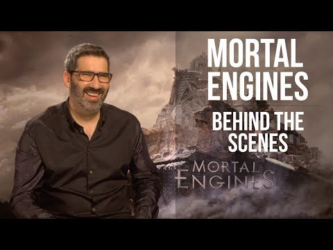 MORTAL ENGINES - Director Christian Rivers talks cities on wheels & Peter Jackson