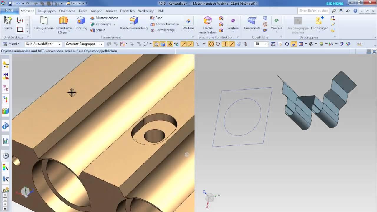 Vorschaubild: NX: Einsatz im Industriemaschinen- und Anlagenbau