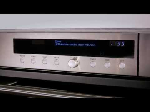 Wolf Steam Combi Oven ICBCSO30TE-S-TH - Stainless Steel Video 2