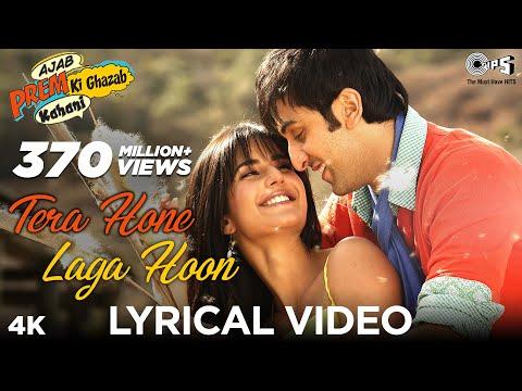 Download Tera Hone Laga Hoon Lyrical - Ajab Prem Ki Ghazab Kahani | Atif Aslam | Ranbir, Katrina K | Pritam HD Mp4 3GP Video and MP3