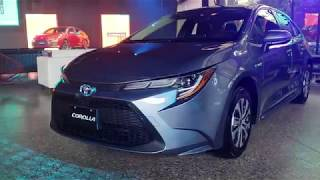 Toyota Corolla 2020. Walkaround durante el lanzamiento en México