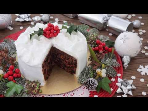 Video Traditional Xmas Cake Recipe