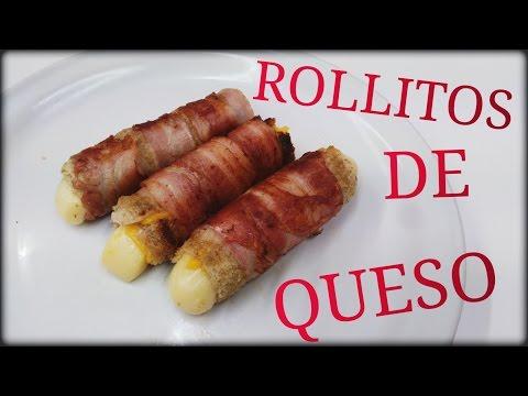 ROLLOS DE QUESO CON TOCINO - ESPECIAL 500 SUBS! - [Fácil&Rápido]