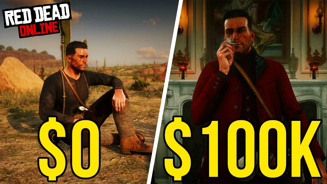 How To Get $100k Quick and Easy In Red Dead Online thumbnail