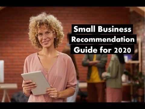 Small Business Recommendation Guide for 2020