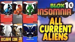 roblox ben 10 insomnia all codes - TH-Clip