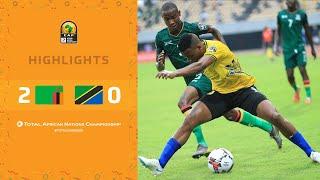 CHAN 2020 | 1er tour – Groupe D : Zambie 2-0 Tanzanie