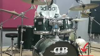 Mo Blur Drum Cover