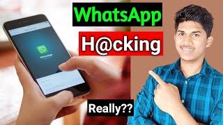 Hack Someone's WhatsApp with their Mobile Number Possible ? The Shocking Reality of internet 😡😡