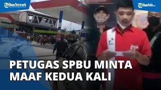 Video Viral Petugas SPBU di Bandung Kena Bogem Ormas, Minta Maaf Kedua Kalinya, Ini Kata Polisi