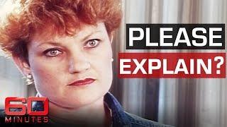 Pauline Hanson infamous 1996 interview   60 Minutes Australia