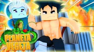 Minecraft: NOVA SERIE !?! YAMOSHI O LENDARIO SUPER SAYAJIN - O PLANETA VEGETA (YAMOSHI) #01 ‹Goten›