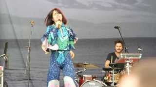 Bat For Lashes - 5 - Oh Yeah - 13.07.2013 - Пикник Афиши (Москва, Коломенское)