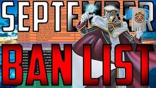 Yu-Gi-Oh! SEPTEMBER 2017 TCG BAN LIST!!!(Dark Synchron)