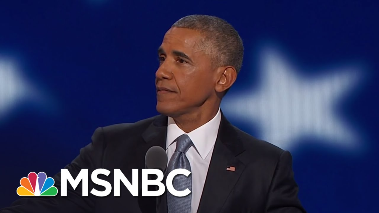 President Obama: November 'Not Your Typical Election' | MSNBC thumbnail