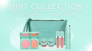 Mint For You Collection | Swatches + Giveaway