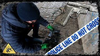 Magnet Fishing Finds - Gun FOUND in Preston Canal ( police involved ) - Video Youtube